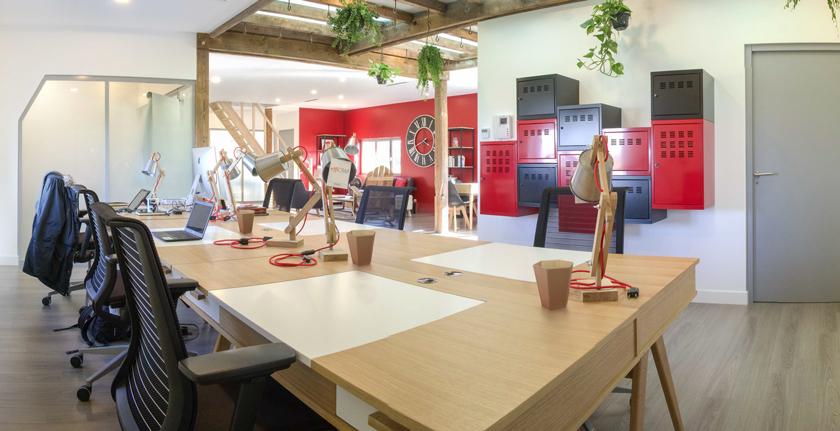 Corbeille de table pour les bureaux en enteprises et collectivités