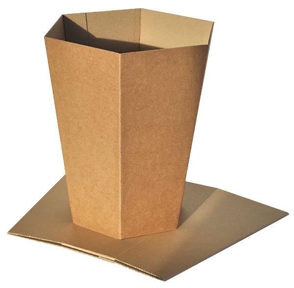 Corbeille de tri papier