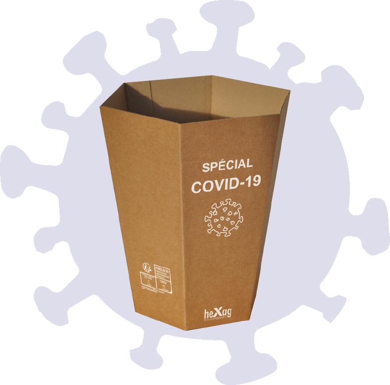 Corbeille COVID-19